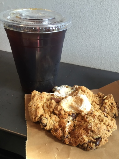 Verve Coffee and Mary's Cookies