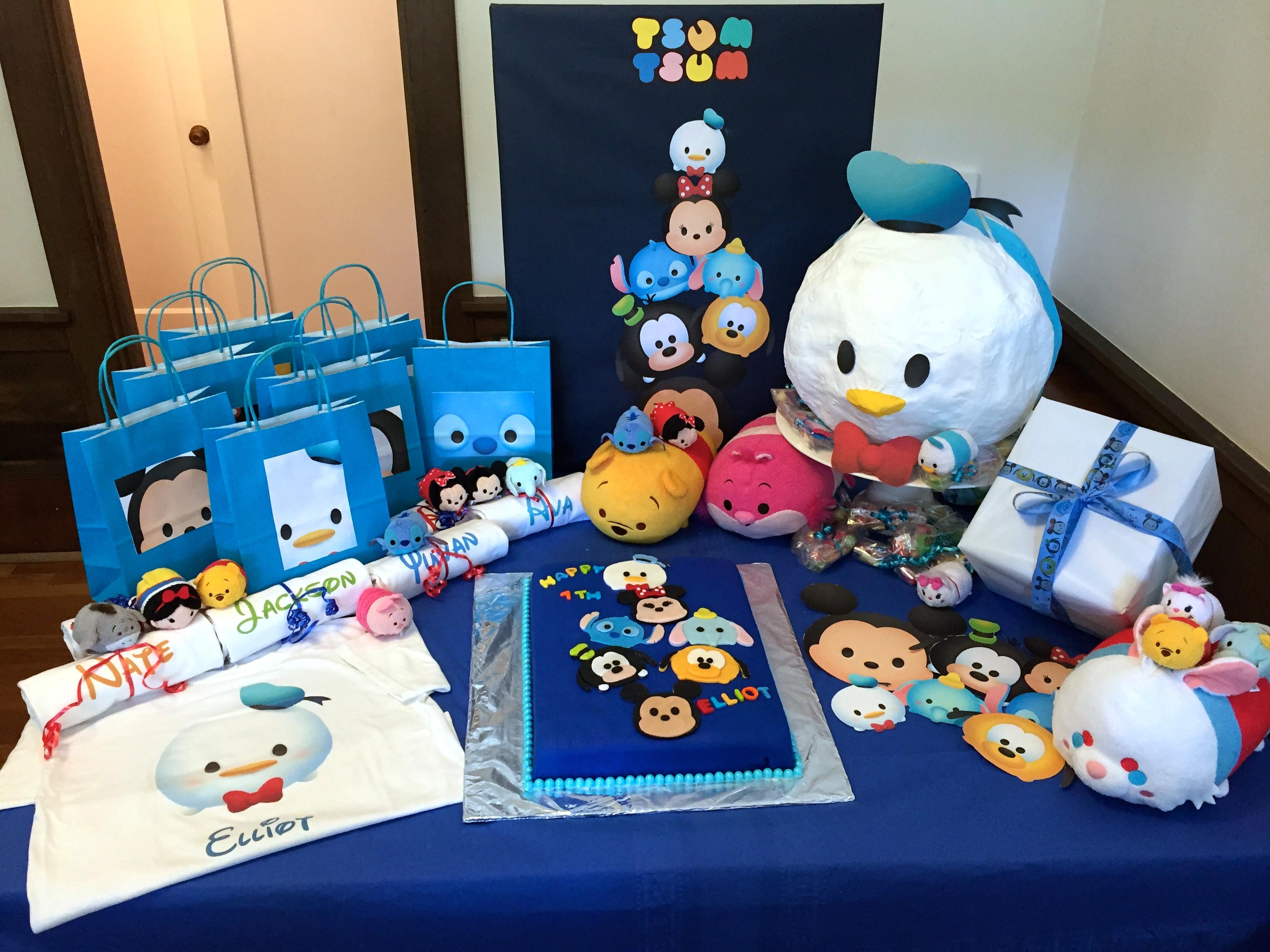 Tsum Tsum Ideas Para Fiestas: Making A Tsum Tsum Birthday Party!
