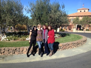 In Napa with the Girls