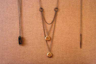 Necklaces from Wallflower Boutique