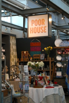 Fun shops and food in the Oxbow Market