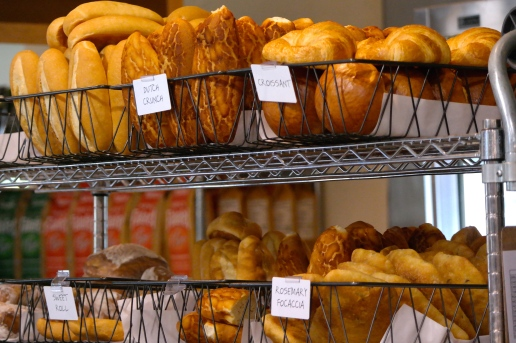 A little bread...