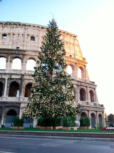 #colosseumxmastree