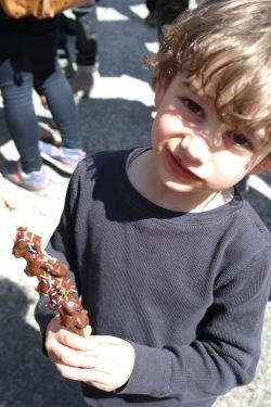 Elliot was an eating machine!