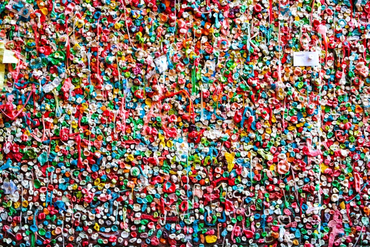 Seattle The Gum Wall Hilarystyle