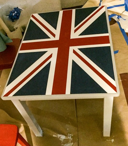 DIY Union Jack Table-1853