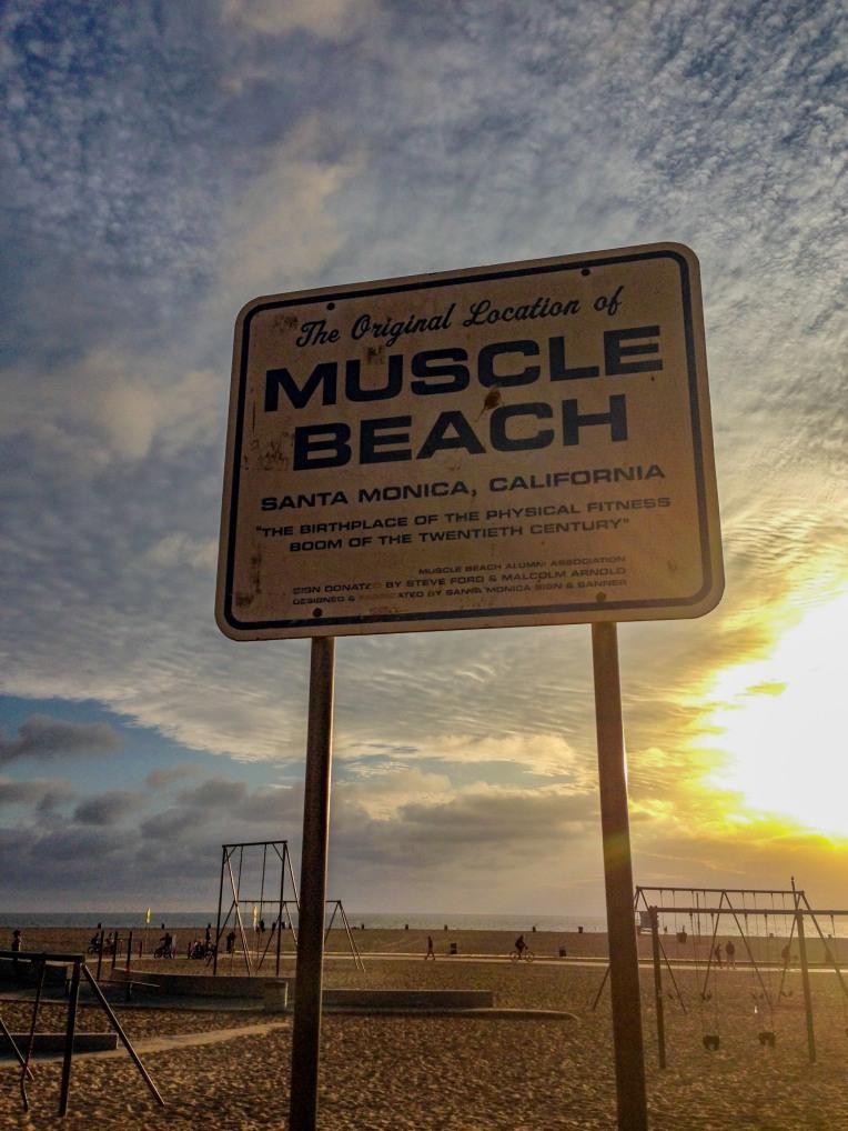 #musclebeach