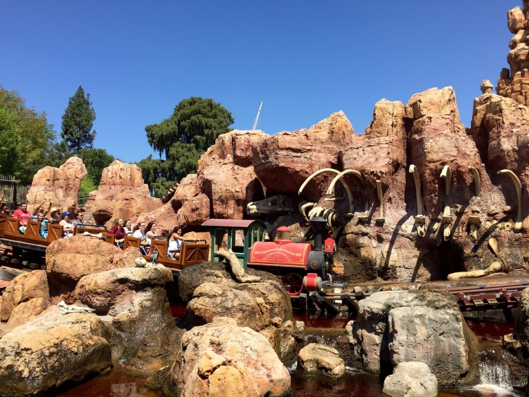 Disneyland Big Thunder Mountain