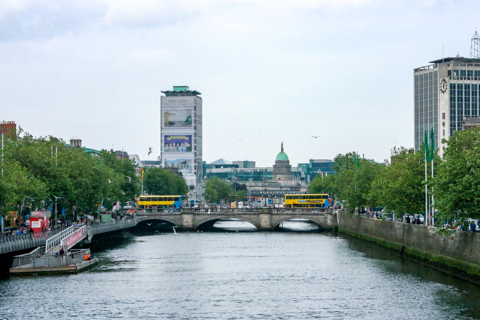 Dublin The River Liffey