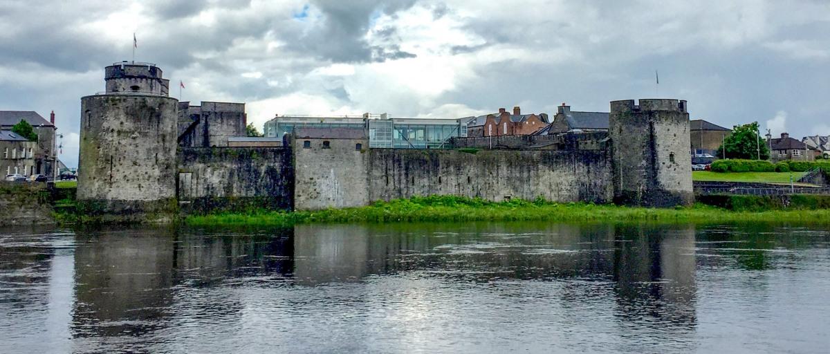 Ireland Along The Way Castles Amp Cliffs Hilarystyle