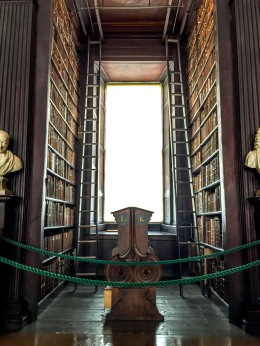 Dublin Trinity College Old Library