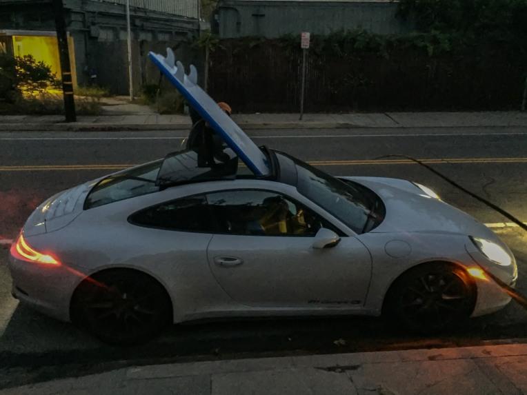 #carpoolwithsurfboard