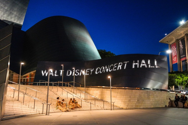 #waltdisneyconcerthall