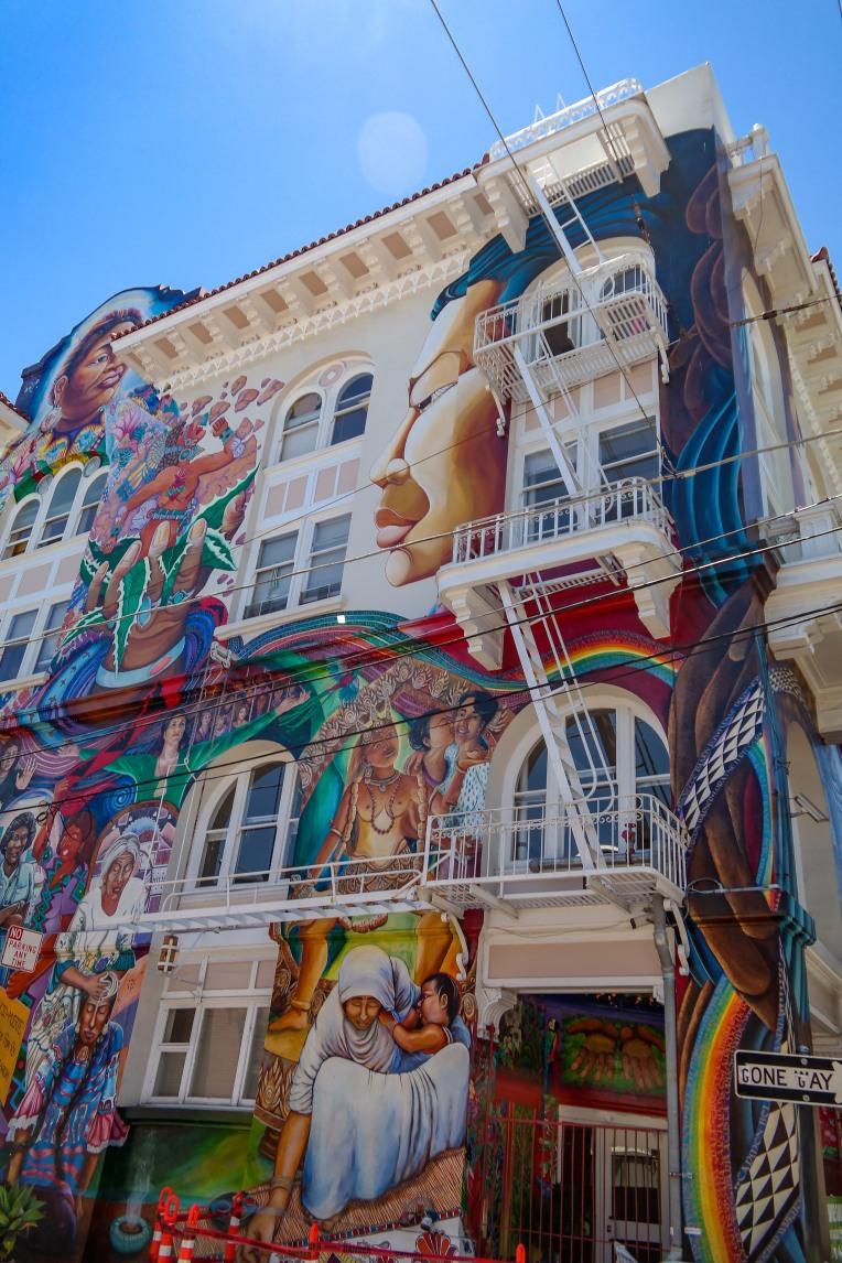Mission District San Francisco Street Art