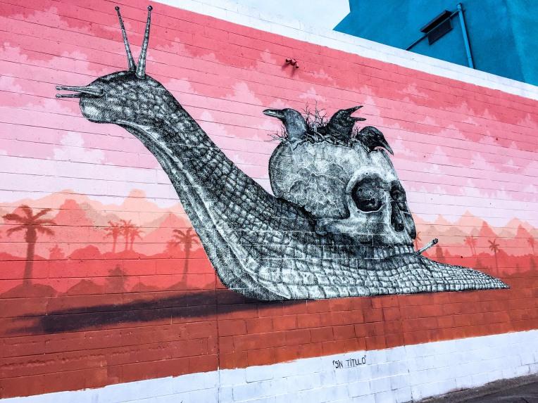 Las Vegas Alexis Diaz Snail Street Art