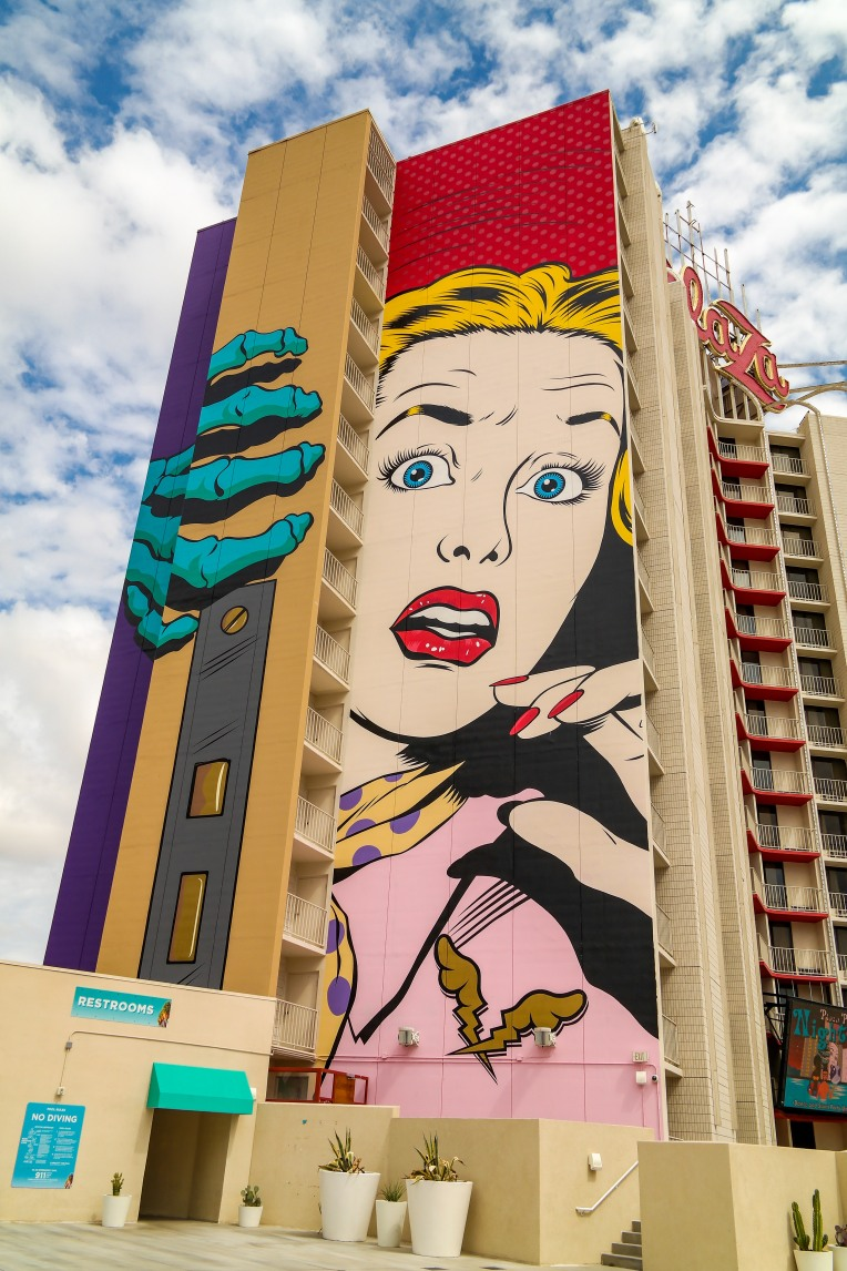 Las Vegas Nevada Dface Street Art