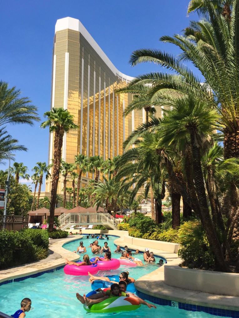 Things to do in Las Vegas with Kids Mandalay Bay Pool