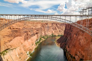 Glen Canyon Dam Page Arizona #glencanyon